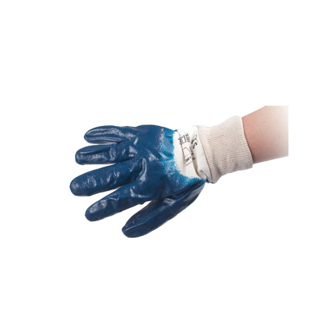 Reinforced nitrile gloves