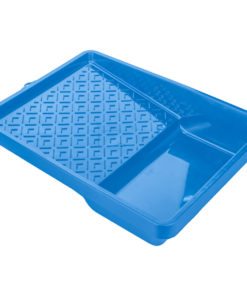 Bucket trays for rollers