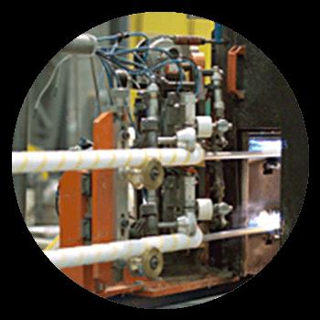 Fabricación de minirodillos Rodapin por Termofusión